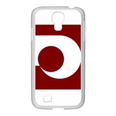 Flag Of Kumamoto Prefecture Samsung Galaxy S4 I9500/ I9505 Case (white)
