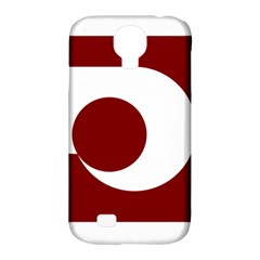 Flag Of Kumamoto Prefecture Samsung Galaxy S4 Classic Hardshell Case (pc+silicone)