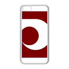 Flag Of Kumamoto Prefecture Apple Iphone 5c Seamless Case (white)