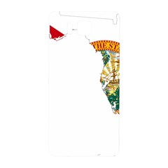 Flag Map Of Florida Samsung Galaxy Alpha Hardshell Back Case