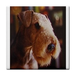 Airedale Terrier Tile Coasters
