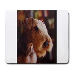 Airedale Terrier Large Mousepads