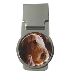 Airedale Terrier Money Clips (Round)
