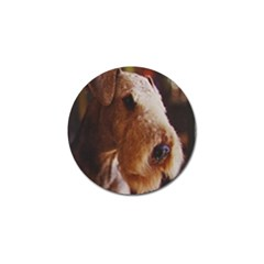 Airedale Terrier Golf Ball Marker (4 pack)