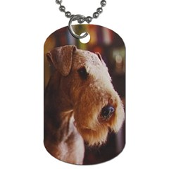 Airedale Terrier Dog Tag (Two Sides)