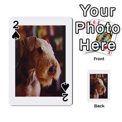 Airedale Terrier Playing Cards 54 Designs