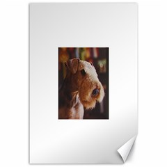 Airedale Terrier Canvas 24  x 36