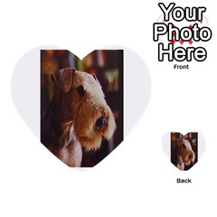 Airedale Terrier Multi-purpose Cards (Heart)