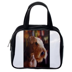 Airedale Terrier Classic Handbags (One Side)