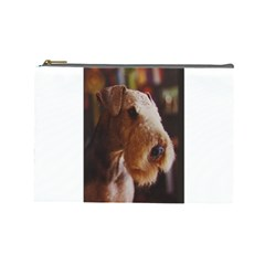 Airedale Terrier Cosmetic Bag (Large)