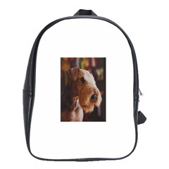 Airedale Terrier School Bags(Large)