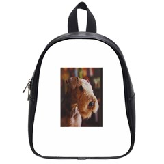 Airedale Terrier School Bags (Small)
