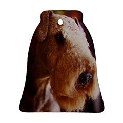 Airedale Terrier Bell Ornament (2 Sides)
