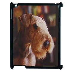 Airedale Terrier Apple iPad 2 Case (Black)