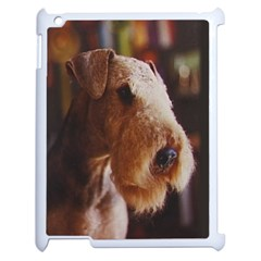 Airedale Terrier Apple iPad 2 Case (White)