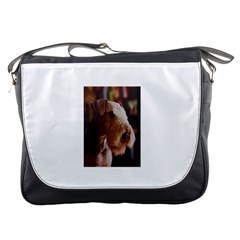 Airedale Terrier Messenger Bags