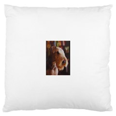 Airedale Terrier Large Cushion Case (One Side)