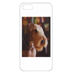 Airedale Terrier Apple iPhone 5 Seamless Case (White)