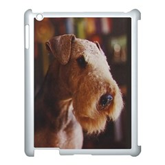 Airedale Terrier Apple iPad 3/4 Case (White)