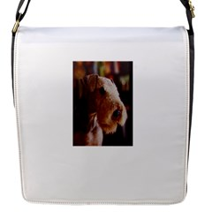 Airedale Terrier Flap Messenger Bag (S)