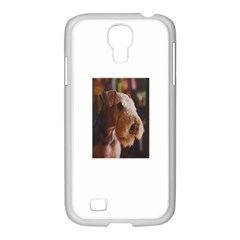 Airedale Terrier Samsung GALAXY S4 I9500/ I9505 Case (White)