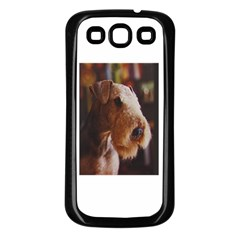 Airedale Terrier Samsung Galaxy S3 Back Case (Black)