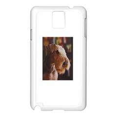 Airedale Terrier Samsung Galaxy Note 3 N9005 Case (White)