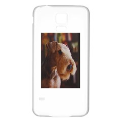 Airedale Terrier Samsung Galaxy S5 Back Case (White)