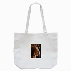Airedale Terrier Tote Bag (White)
