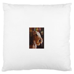 Airedale Terrier Standard Flano Cushion Case (Two Sides)