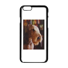 Airedale Terrier Apple iPhone 6/6S Black Enamel Case