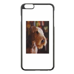 Airedale Terrier Apple iPhone 6 Plus/6S Plus Black Enamel Case