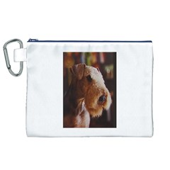 Airedale Terrier Canvas Cosmetic Bag (XL)
