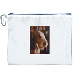 Airedale Terrier Canvas Cosmetic Bag (XXXL)