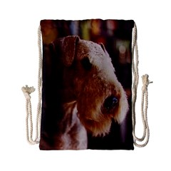 Airedale Terrier Drawstring Bag (Small)
