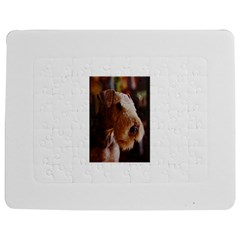 Airedale Terrier Jigsaw Puzzle Photo Stand (Rectangular)