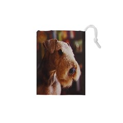 Airedale Terrier Drawstring Pouches (XS)