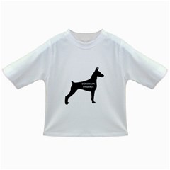 Doberman Pinscher Name Silhouette Black Infant/Toddler T-Shirts