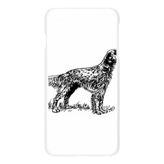 English Setter Drawing Apple Seamless iPhone 6 Plus/6S Plus Case (Transparent)