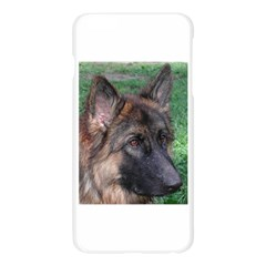 German Shepherd Apple Seamless iPhone 6 Plus/6S Plus Case (Transparent)