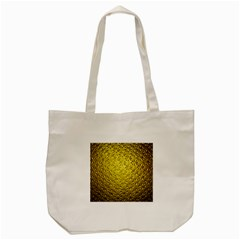 Patterns Gold Textures Tote Bag (Cream)