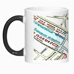 Paris Map Morph Mugs
