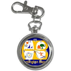 Flag Of Huntington Beach, California Key Chain Watches