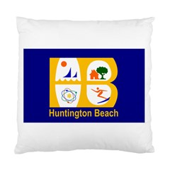 Flag Of Huntington Beach, California Standard Cushion Case (one Side)