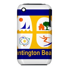 Flag Of Huntington Beach, California Apple Iphone 3g/3gs Hardshell Case (pc+silicone)