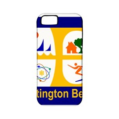 Flag Of Huntington Beach, California Apple Iphone 5 Classic Hardshell Case (pc+silicone)