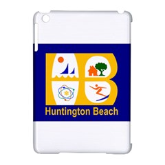 Flag Of Huntington Beach, California Apple Ipad Mini Hardshell Case (compatible With Smart Cover)