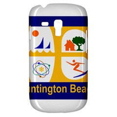 Flag Of Huntington Beach, California Samsung Galaxy S3 Mini I8190 Hardshell Case
