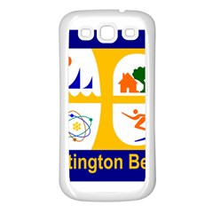 Flag Of Huntington Beach, California Samsung Galaxy S3 Back Case (white)