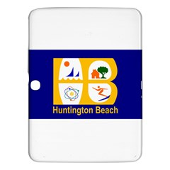 Flag Of Huntington Beach, California Samsung Galaxy Tab 3 (10 1 ) P5200 Hardshell Case